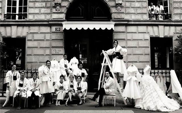 Dior Team Photoshoot - Dior Couture Book Dior Couture Book Dior Couture Book Dior Team
