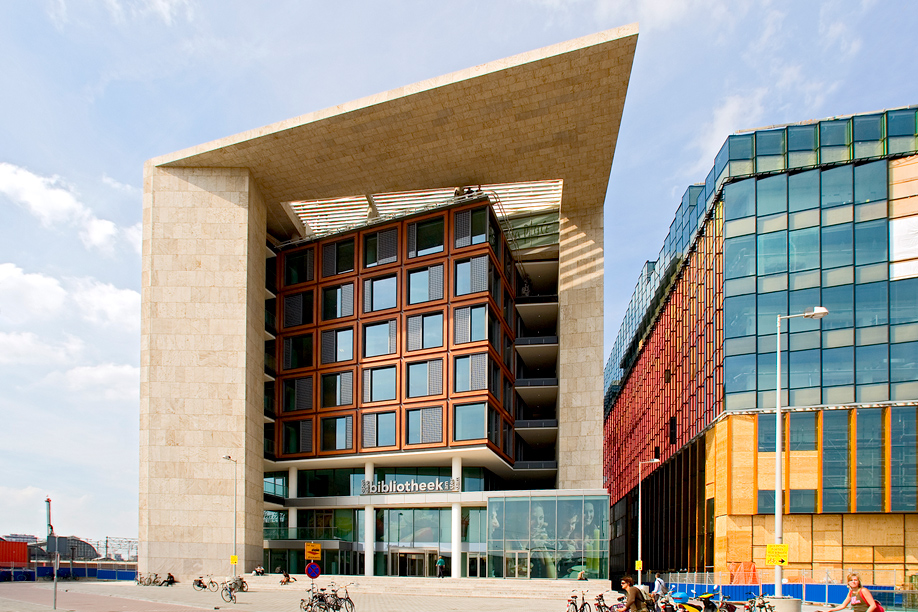 AMSTERDAM-PUBLIC-LIBRARY-interior-design best libraries around the world BEST LIBRARIES AROUND THE WORLD (CONT) AMSTERDAM PUBLIC LIBRARY interior design