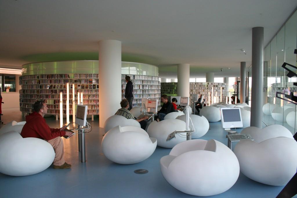 AMSTERDAM-PUBLIC-LIBRARY best libraries around the world BEST LIBRARIES AROUND THE WORLD (CONT) AMSTERDAM PUBLIC LIBRARY