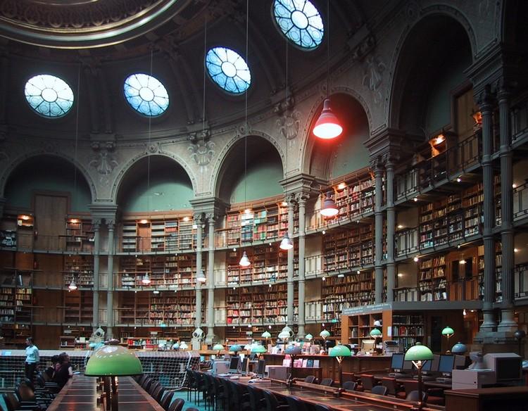 NATIONAL-LIBRARY-SITE-RICHELIEU-PARIS-FRANCE-design best libraries around the world BEST LIBRARIES AROUND THE WORLD (CONT) NATIONAL LIBRARY SITE RICHELIEU PARIS FRANCE design