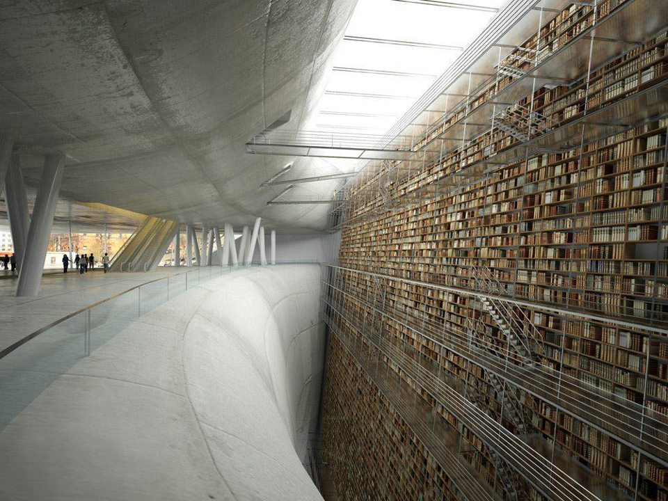 STOCKHOLM-PUBLIC-LIBRARY-sweden-best-libraries-world best libraries around the world BEST LIBRARIES AROUND THE WORLD (CONT) STOCKHOLM PUBLIC LIBRARY sweden best libraries world