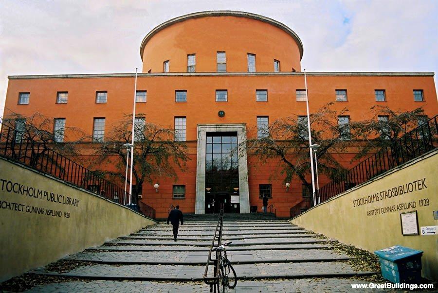 STOCKHOLM-PUBLIC-LIBRARY-sweden-building best libraries around the world BEST LIBRARIES AROUND THE WORLD (CONT) STOCKHOLM PUBLIC LIBRARY sweden building
