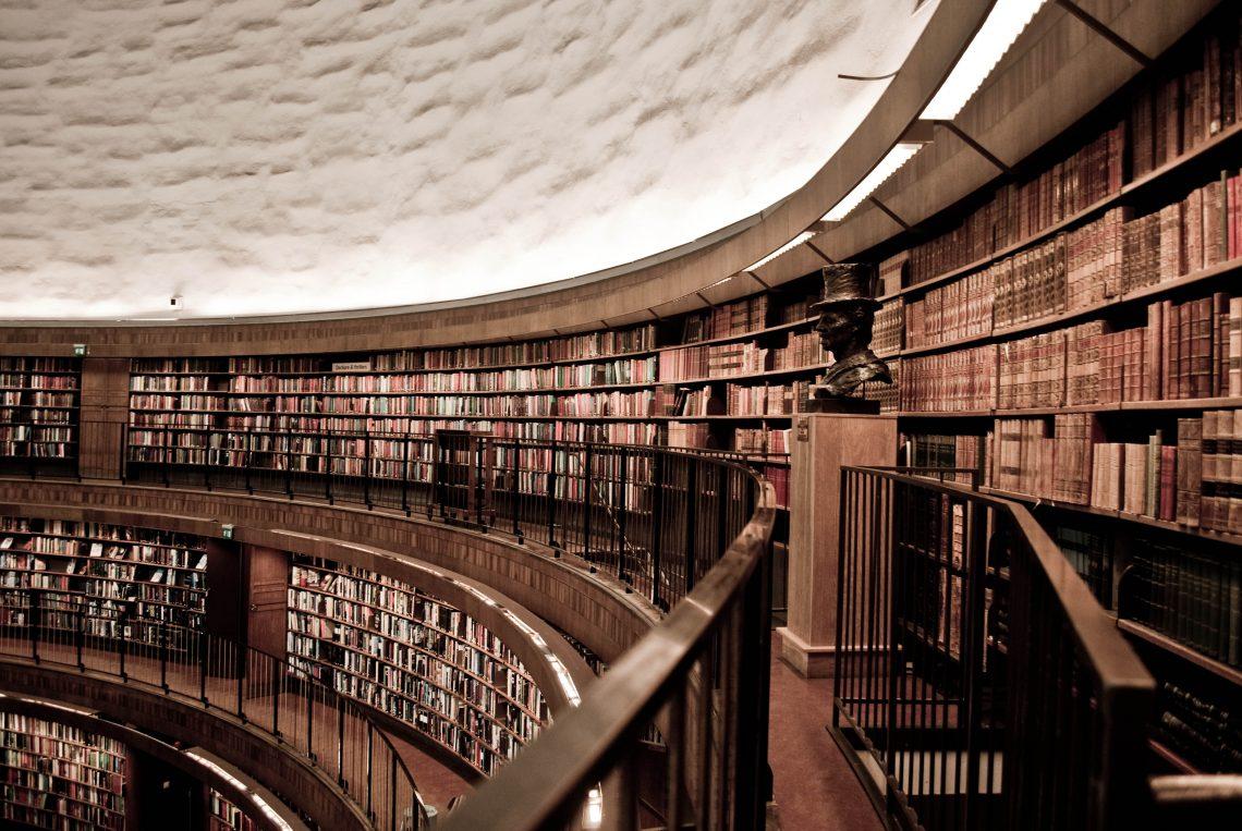STOCKHOLM-PUBLIC-LIBRARY-sweden best libraries around the world BEST LIBRARIES AROUND THE WORLD (CONT) STOCKHOLM PUBLIC LIBRARY sweden