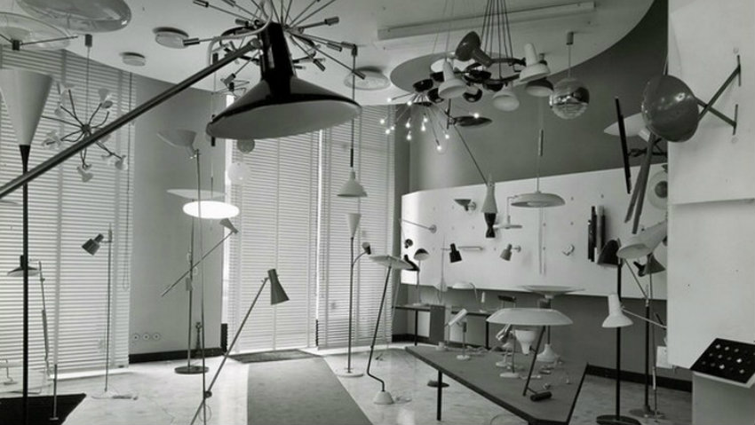 gino sarfatti complete works Gino Sarfatti Complete Works 1938-1973 flos sarfatti showroom 1