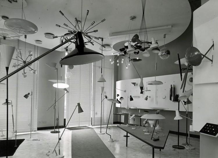 Gino Sarfatti Complete Works 1938-1973 - 2012 gino sarfatti complete works Gino Sarfatti Complete Works 1938-1973 flos sarfatti showroom