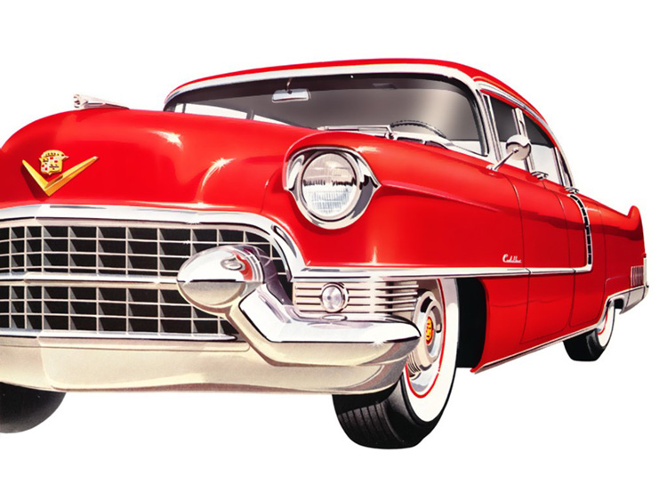 red-cadillac3  Cadillac Limited Edition Book red cadillac3