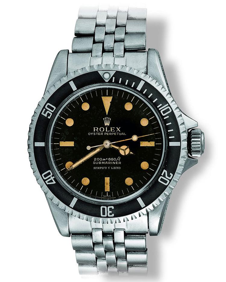 2 Page 186 [Ref 5512_5513] McQueen  100 Superlative Rolex Watches 2 Page 186 Ref 5512 5513 McQueen