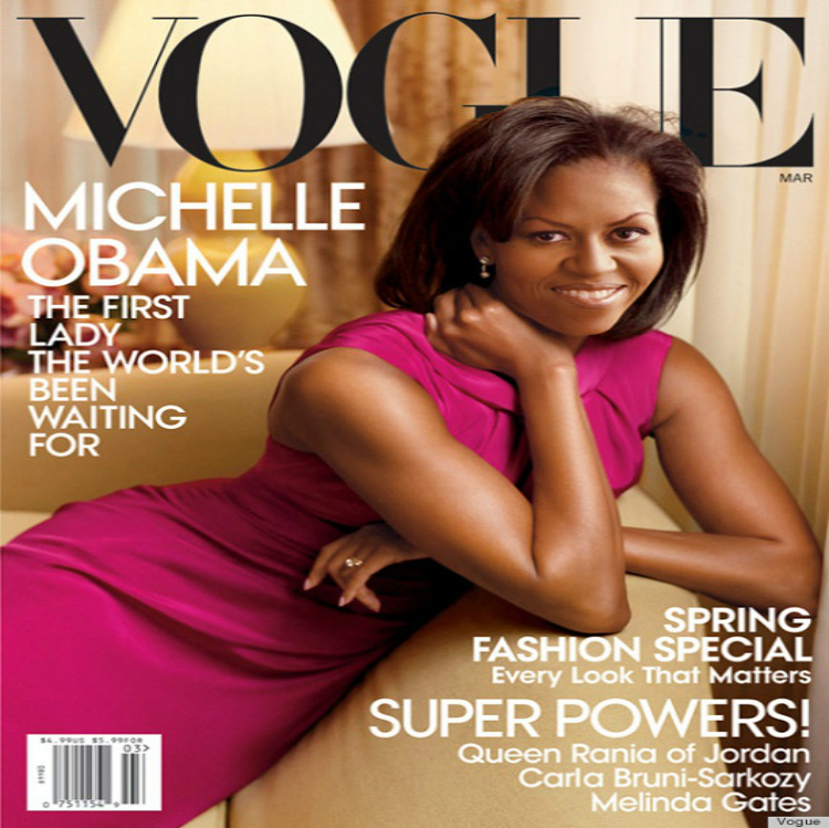 Vogue-cover-Michelle-Obama-March-2012  Top 10 most iconic Vogue magazine covers of all time Vogue cover Michelle Obama March 2012
