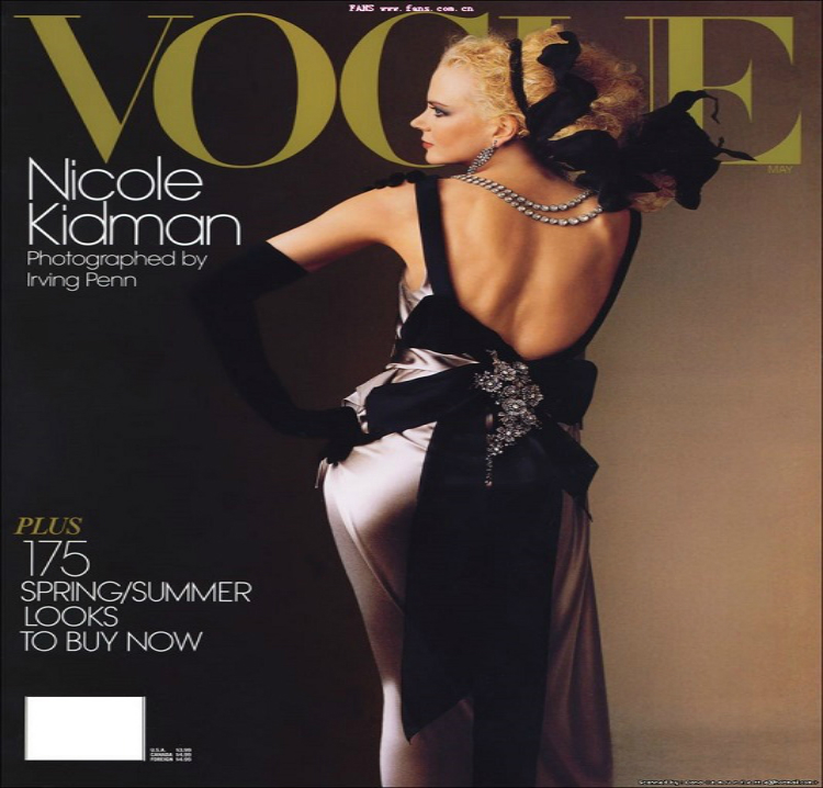 Vogue-cover-Nicole-Kidman-May-2004  Top 10 most iconic Vogue magazine covers of all time Vogue cover Nicole Kidman May 2004