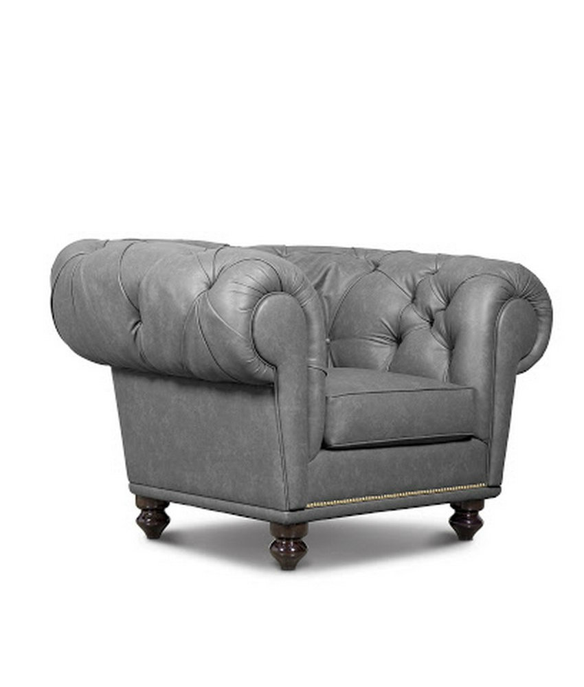 chesterfield armchair boca do lobo sofa one seat sofa interior design ideas Book Review: Inspiring Interior Design Ideas by Covet House chesterfield armchair 02