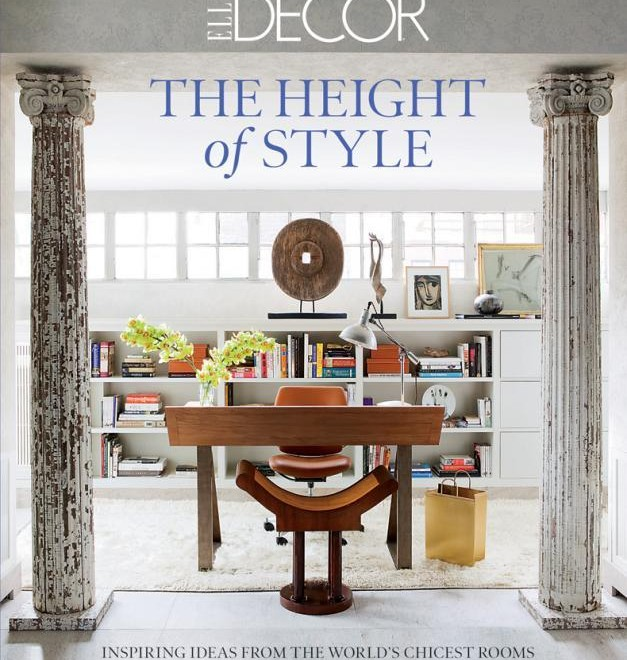Elle Decor Book: Inspiring Ideas from the World's Chicest Rooms  Elle Decor Book: Inspiring Ideas from the World's Chicest Rooms elle decor books inspiring ideas from the worlds chicest rooms 627x660