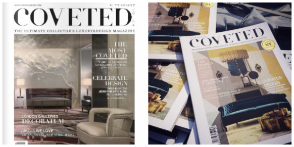 Coveted Magazine released at Milan Design Week  Coveted Magazine released at Milan Design Week collage