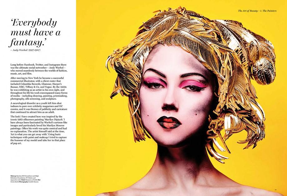 Books Review Art & Makeup