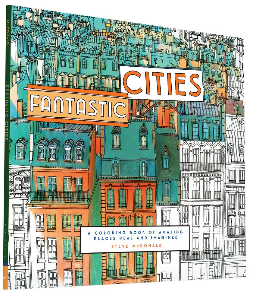 Book Reviews: Coloring Books for Design Lovers