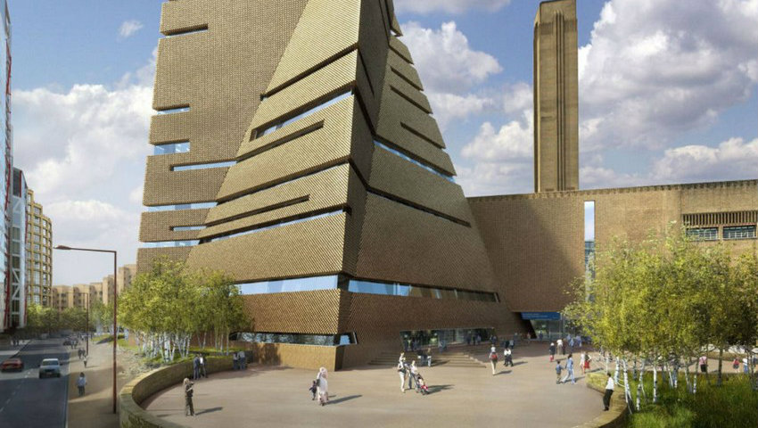 Tate Modern Building Book Review: Tate Modern Building a Museum for the 21st Century Tate Modern Extension by Herzog de Meuron 09