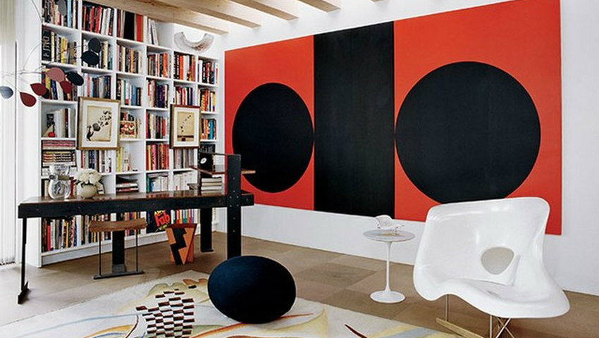 Home Libraries You Must-See These 10 Contemporary Home Libraries by AD dam images decor 2014 10 charles churchward charles churchward santa fe 05 library 2 1