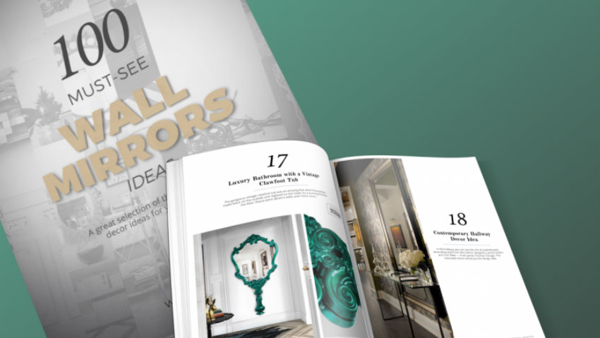 Free eBook Free eBook: 100 Wall Mirrors for Modern Home Interiors Free eBook 100 Wall Mirrors for Modern Home Interiors 1