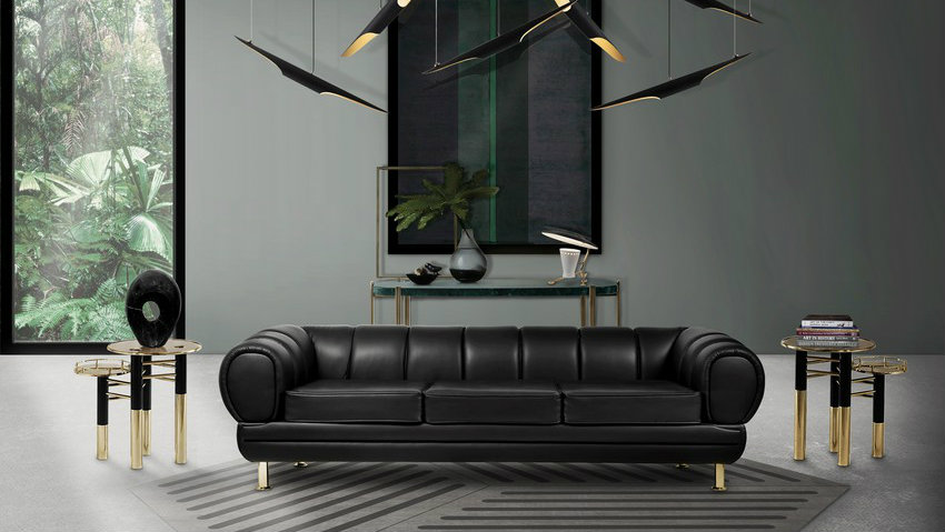 Free eBook: 100 Modern Living Room Couches for a Glamorous Home
