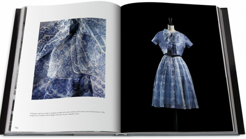 Fashion Book: The Glamour of Dior By Yves Saint Laurent