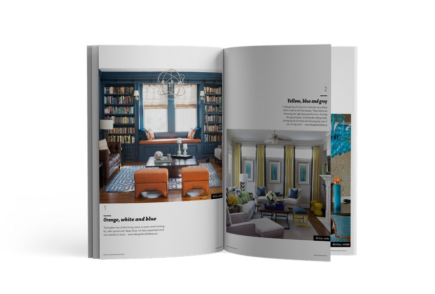Download Free eBook: 50 Striking Color Scheme Decor Ideas
