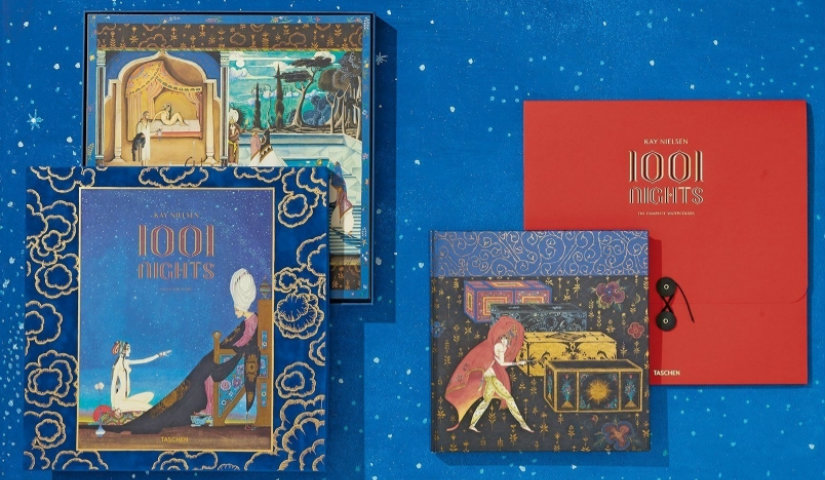 1001 Nights Visions of 1001 Nights – Art Portfolio of Kay Nielsen's Illustrations Visions of 1001 Nights Art Portfolio of Kay Nielsen   s Illustrations 1