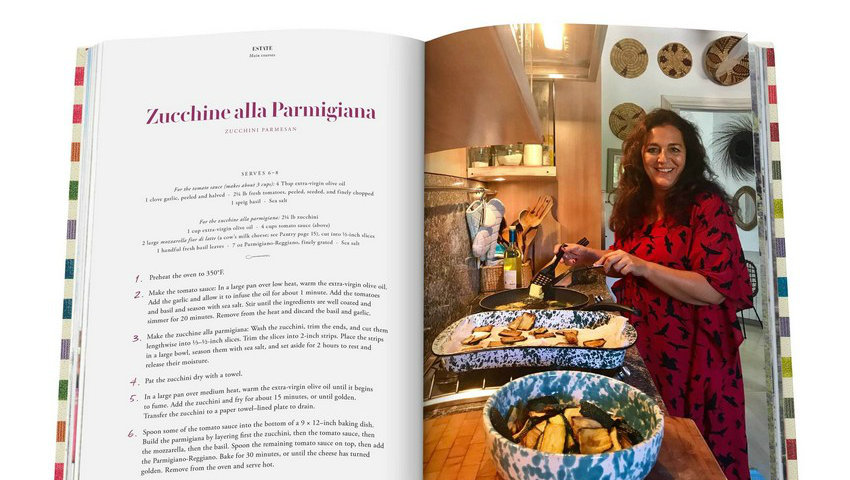 Missoni Family Cookbook has Lots of Color and Flavour