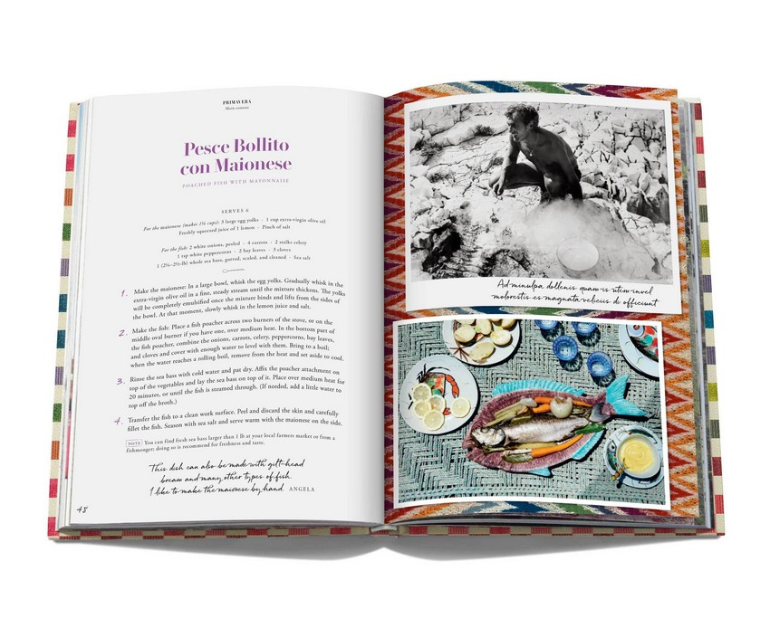 missoni family cookbook Missoni Family Cookbook has Lots of Color and Flavour Missoni Family Cookbook has Lots of Color and Flavour 5