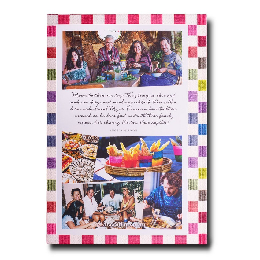 missoni family cookbook Missoni Family Cookbook has Lots of Color and Flavour Missoni Family Cookbook has Lots of Color and Flavour 7