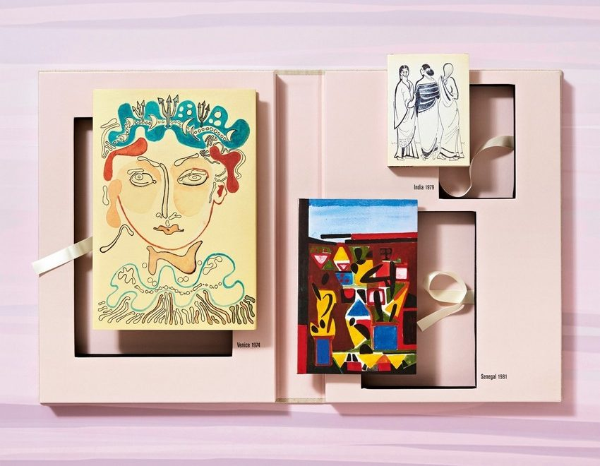 Françoise Gilot's Travel Sketchbooks: Venice, India, Senegal Fran  oise Gilot   s Travel Sketchbooks Venice India Senegal 2 850x660