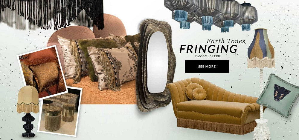 Be Inspired by Two Moodboards that Highlight the Fringe Design Trend 4