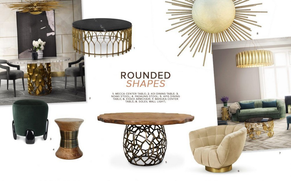 Introduce Round Shapes to Your Home Interiors for a Smoother Look 4 home interiors Introduce Round Shapes to Your Home Interiors for a Smoother Look Introduce Round Shapes to Your Home Interiors for a Smoother Look 4