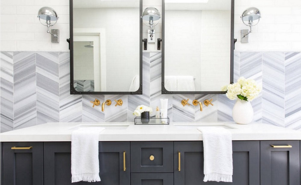 Mix Metals Is the Perfect 2019 Design Trend for Bathroom Interiors 7 bathroom interiors Mix Metals Is the Perfect 2019 Design Trend for Bathroom Interiors Mix Metals Is the Perfect 2019 Design Trend for Bathroom Interiors 7