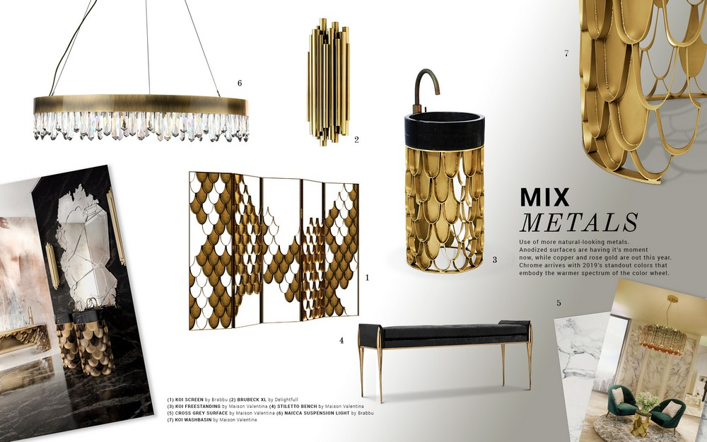 Mix Metals Is the Perfect 2019 Design Trend for Bathroom Interiors 7 bathroom interiors Mix Metals Is the Perfect 2019 Design Trend for Bathroom Interiors Mix Metals Is the Perfect 2019 Design Trend for Bathroom Interiors 8