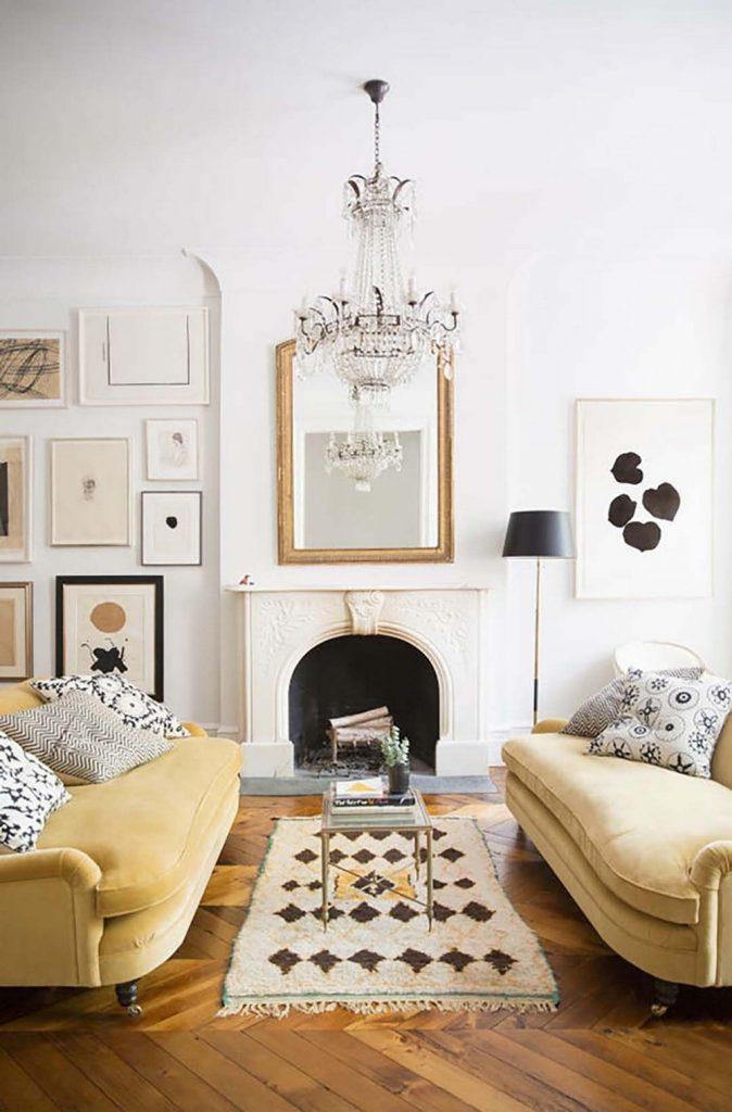 Regard the Best Interior Design Inspirations in Mellow Yellow Tones 7