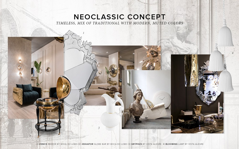 Trendbook Creates Moodboard Based on the Neoclassic Design Concept 4 Neoclassic Design Trendbook Creates Moodboard Based on the Neoclassic Design Concept Trendbook Creates Moodboard Based on the Neoclassic Design Concept 4
