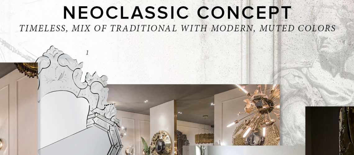 Trendbook Creates Moodboard Based on the Neoclassic Design Concept