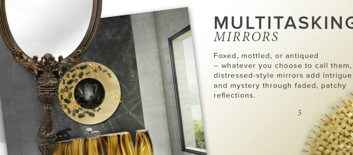wall mirror designs Find 5 Staggering Wall Mirror Designs in this Exhilarating Moodboard featured 5 1140x500