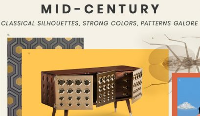 Mid-Century Style The Mid-Century Style Is all About Classical Silhouettes and Patterns mid century design trends 2019 409x237