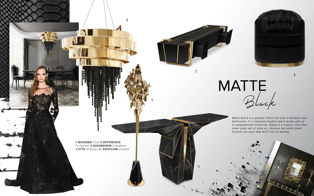 Color Trends 2019: Introduce Matte Black Into Your Home Decor matte black Color Trends 2019: Introduce Matte Black Into Your Home Decor Color Trends 2019 Introduce Matte Black Into Your Home Decor 1