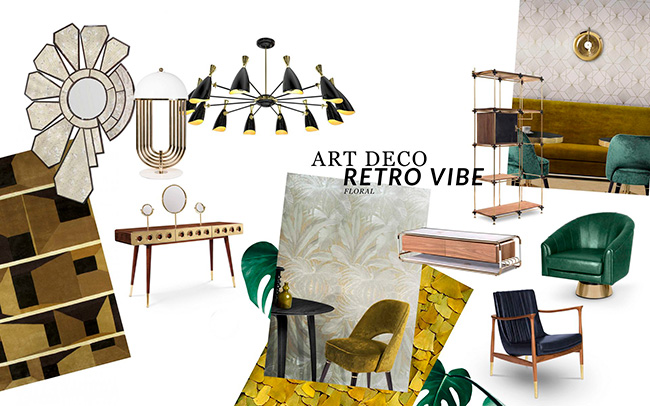 Design Trends 2019: Art Deco Meets Retro Vibe  art deco Design Trends 2019: Art Deco Meets Retro Vibe  Design Trends 2019 Art Deco Meets Retro Vibe 1