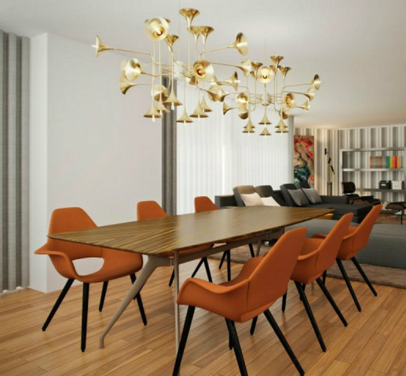 Metals: A Shining Design Trend For Your Dining Room metals Metals: A Shining Design Trend For Your Dining Room Enhance Your Dining Room Design With New Metals 2