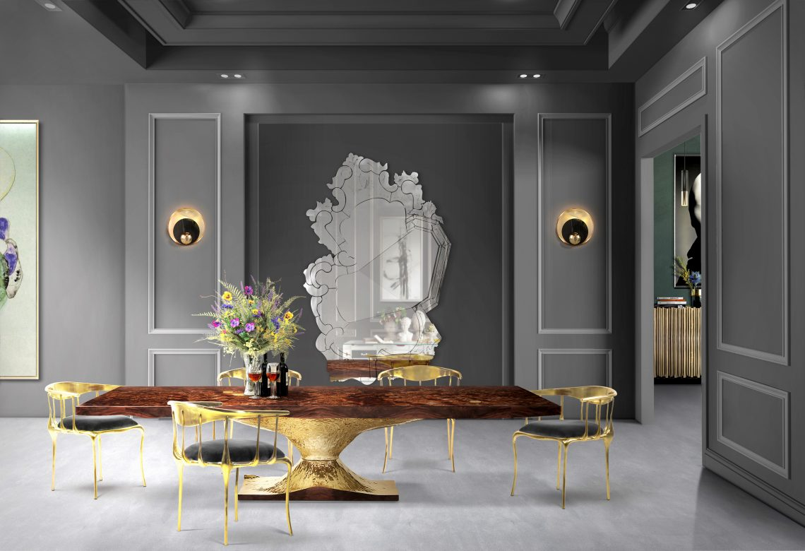 Metals: A Shining Design Trend For Your Dining Room metals Metals: A Shining Design Trend For Your Dining Room Enhance Your Dining Room Design With New Metals 3