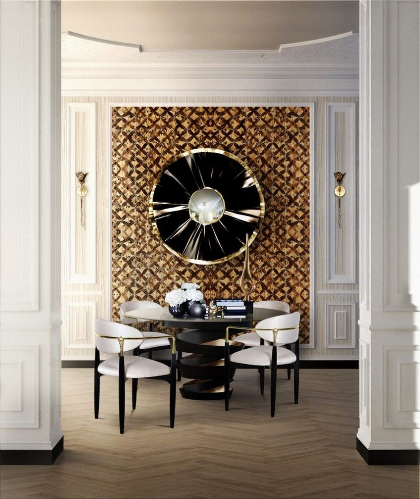 Metals: A Shining Design Trend For Your Dining Room metals Metals: A Shining Design Trend For Your Dining Room Enhance Your Dining Room Design With New Metals 5