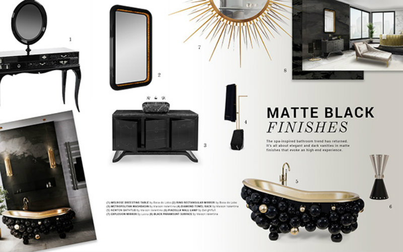 matte black How To Use Matte Black In A Luxury Decor How To Use Matte Black In A Luxury Decor 1 1