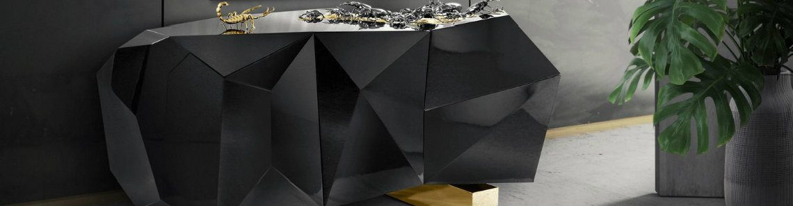 How To Use Metallic Black Matte In A Luxury Decor