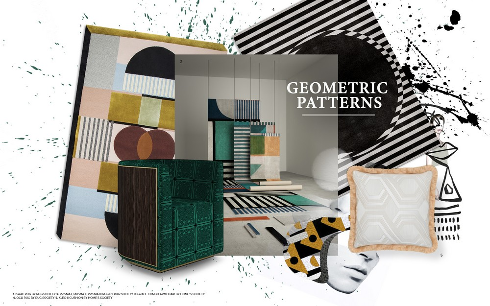 Interior Design Trends 2019 - Decor with Geometric Patterns 1 interior design trends Interior Design Trends – Decor with Geometric Patterns Interior Design Trends 2019 Decor with Geometric Patterns 1