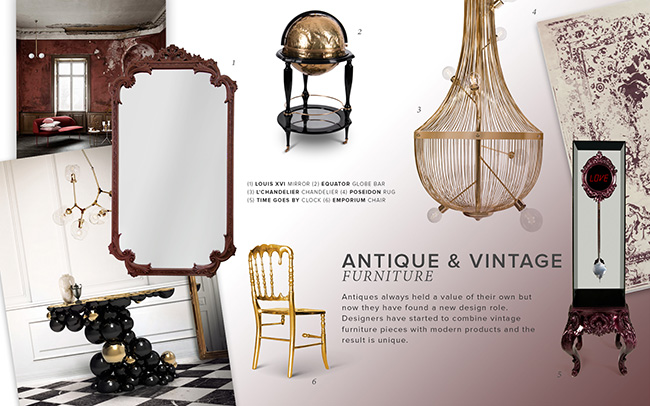 Design Trends 2019: When Vintage Furniture Meets Modern