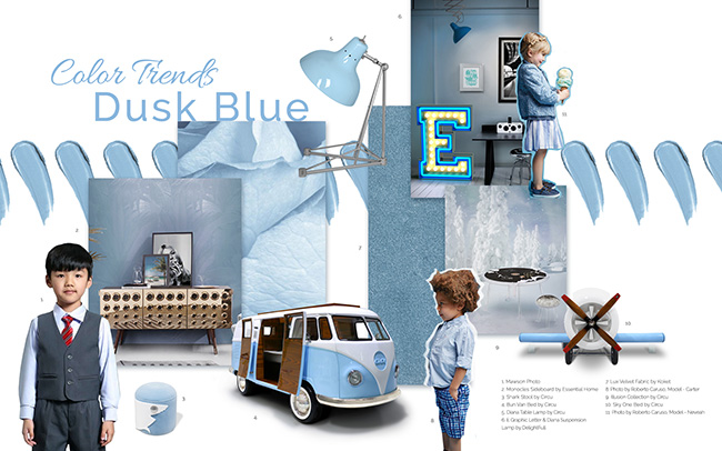 Color Trends 2019: Get Ready For Summer With Dusk Blue