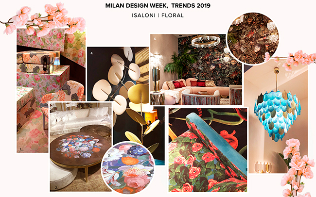 Design Trends From Milan Design Week 2019: Floral Patterns  floral patterns Design Trends From Milan Design Week 2019: Floral Patterns  Design Trends From Milan Design Week 2019 Floral Patterns 1