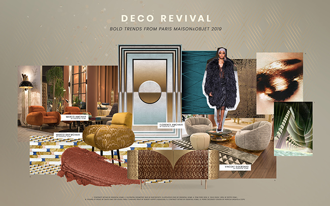 Interior Design Trend For 2019: Deco Revival deco revival Interior Design Trend For 2019: Deco Revival Interior Design Trend For 2019 Deco Revival 1